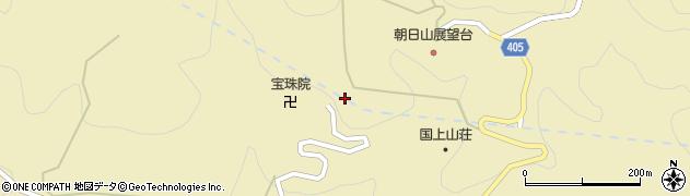 宝珠院周辺の地図