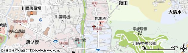 菅野建設工業株式会社 川俣支店周辺の地図