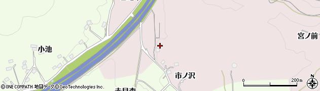 福島県福島市松川町浅川(谷地中)周辺の地図