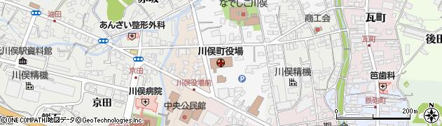 福島県伊達郡川俣町周辺の地図