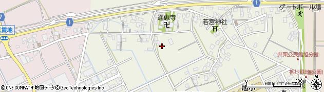 新潟県三条市柳川新田周辺の地図