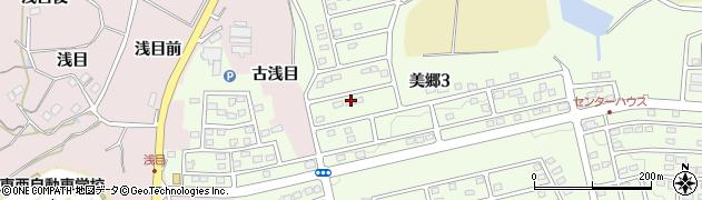 福島県福島市松川町(美郷3丁目)周辺の地図