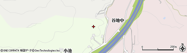 福島県福島市松川町(山端)周辺の地図