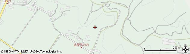 福島県福島市松川町水原(作内)周辺の地図