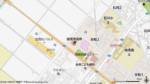 〒959-1300 新潟県加茂市(以下に掲載がない場合)の地図