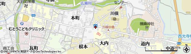 清川製パン店周辺の地図