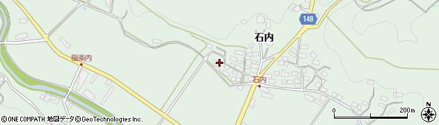 福島県福島市松川町水原(石内前)周辺の地図
