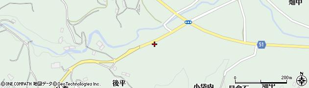 福島県福島市立子山(神田山)周辺の地図