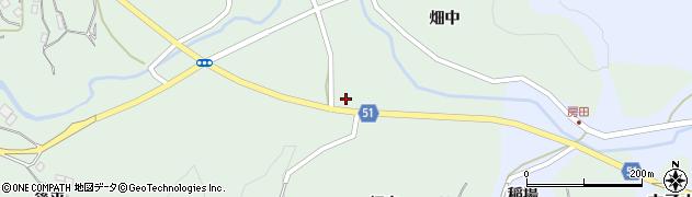 福島県福島市立子山(疱除神)周辺の地図