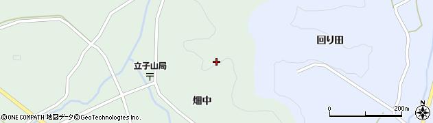 福島県福島市立子山(四方木田山)周辺の地図