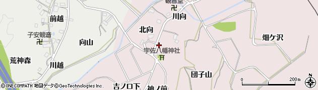 福島県福島市松川町浅川(団子山)周辺の地図
