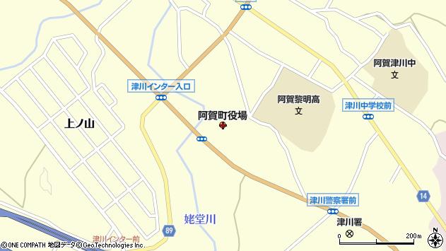 〒959-4400 新潟県東蒲原郡阿賀町(以下に掲載がない場合)の地図