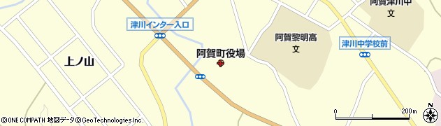 新潟県阿賀町(東蒲原郡)周辺の地図
