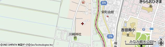 新潟県弥彦村(西蒲原郡)川崎周辺の地図