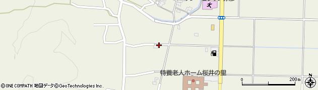 新潟県弥彦村(西蒲原郡)麓周辺の地図