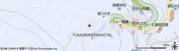 福島県福島市土湯温泉町(油畑)周辺の地図