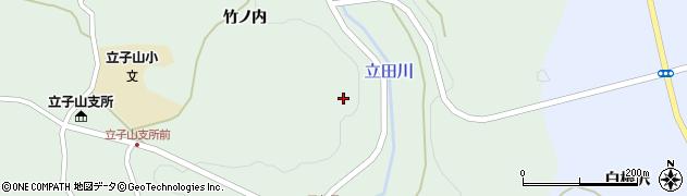 福島県福島市立子山(光師保内)周辺の地図