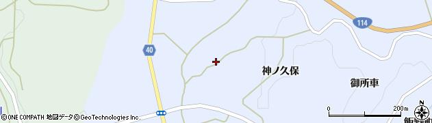 福島県福島市飯野町青木(越田)周辺の地図