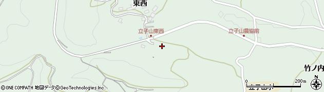 福島県福島市立子山(東西向)周辺の地図
