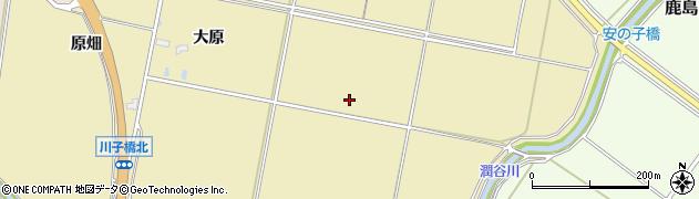 福島県南相馬市鹿島区小島田長畑周辺の地図