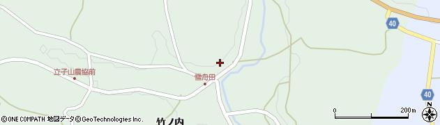 福島県福島市立子山(雪舟田)周辺の地図