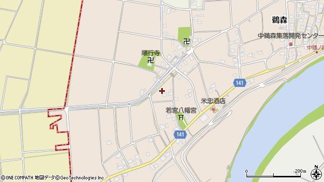 〒959-1306 新潟県加茂市鵜森の地図
