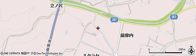 福島県南相馬市鹿島区小池薩摩内周辺の地図