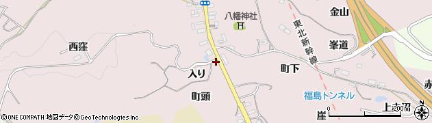 福島県福島市松川町浅川(入り)周辺の地図