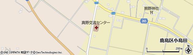 福島県南相馬市鹿島区小島田原畑周辺の地図
