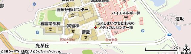 福島県眼科医会光が丘事務局周辺の地図