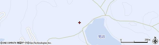 福島県福島市土湯温泉町(男沼頭)周辺の地図