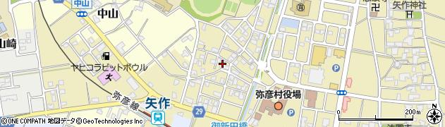 金原仏壇店弥彦工場周辺の地図