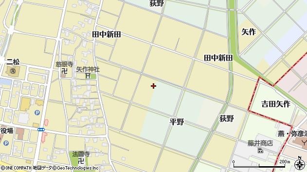 〒959-0305 新潟県西蒲原郡弥彦村矢作の地図