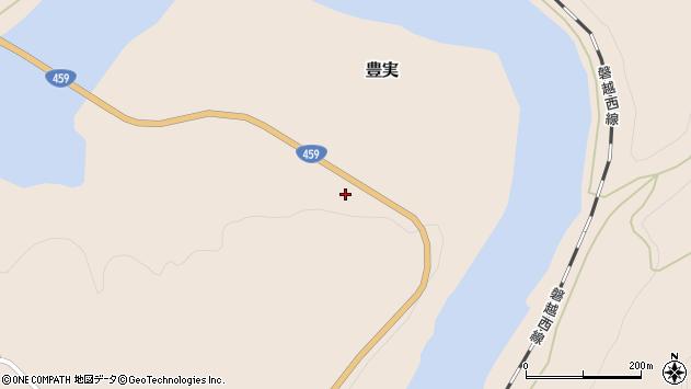 〒959-4304 新潟県東蒲原郡阿賀町豊実の地図