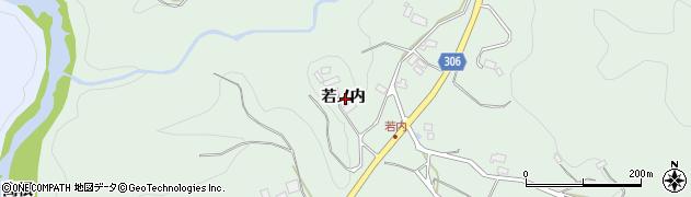 福島県福島市立子山(若ノ内)周辺の地図