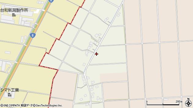 〒959-1307 新潟県加茂市田中新田の地図