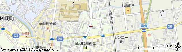 新潟県燕市吉田東町周辺の地図