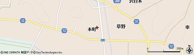 善仁寺周辺の地図