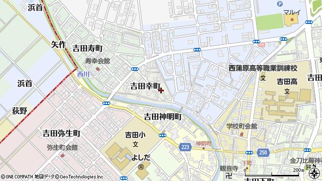 〒959-0257 新潟県燕市吉田幸町の地図