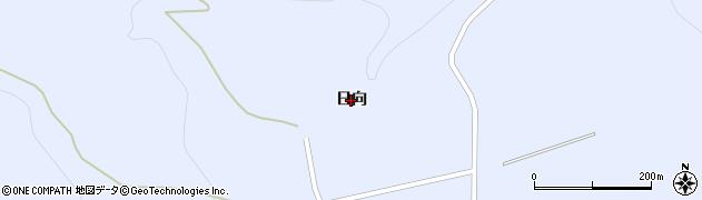 福島県福島市土湯温泉町(日向)周辺の地図