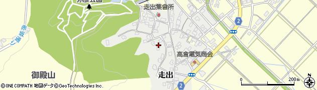 新潟県弥彦村(西蒲原郡)走出周辺の地図