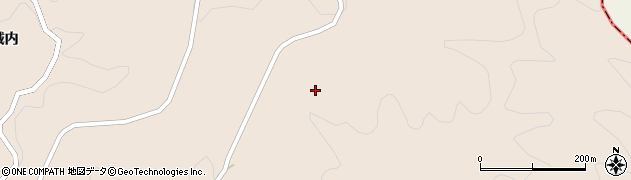 福島県伊達市月舘町上手渡(桃木久保)周辺の地図