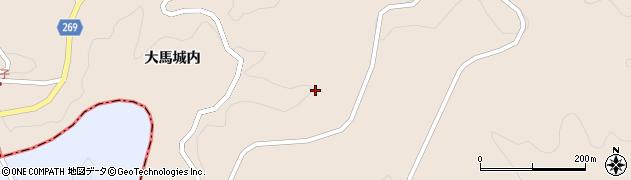 福島県伊達市月舘町上手渡(上松葉)周辺の地図