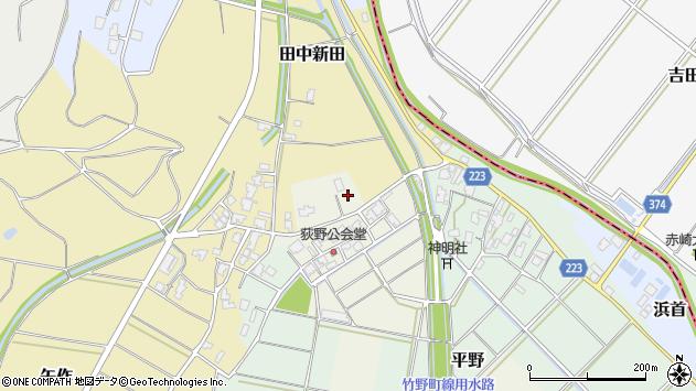 〒959-0304 新潟県西蒲原郡弥彦村荻野の地図