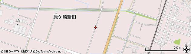 新潟県南蒲原郡田上町原ケ崎新田周辺の地図