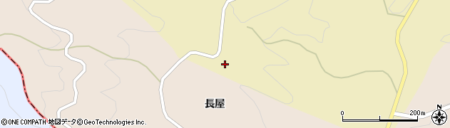 福島県伊達市月舘町糠田(林越)周辺の地図
