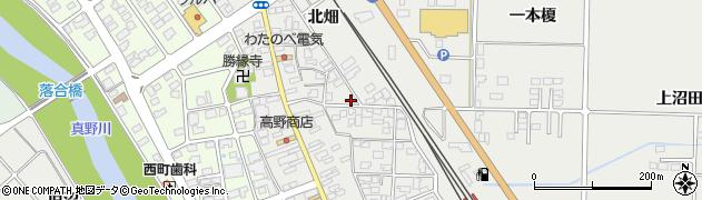 佐々木クリーニング店周辺の地図