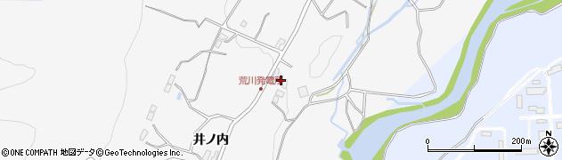 福島県福島市佐原(西手城森)周辺の地図