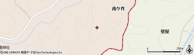 福島県伊達市月舘町上手渡(西ケ作)周辺の地図