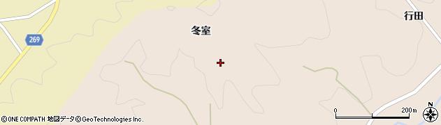 福島県伊達市月舘町上手渡(冬室)周辺の地図